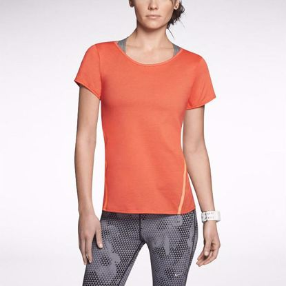 图片 Nike Tailwind Loose Short-Sleeve Running Shirt